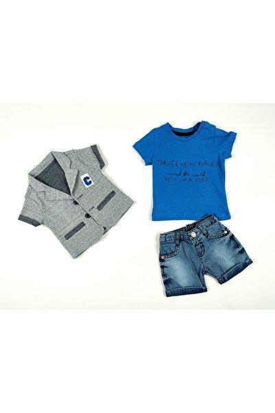 Concept. Erkek Bebek Üçlü Dış Giyim Takımı Ceketli