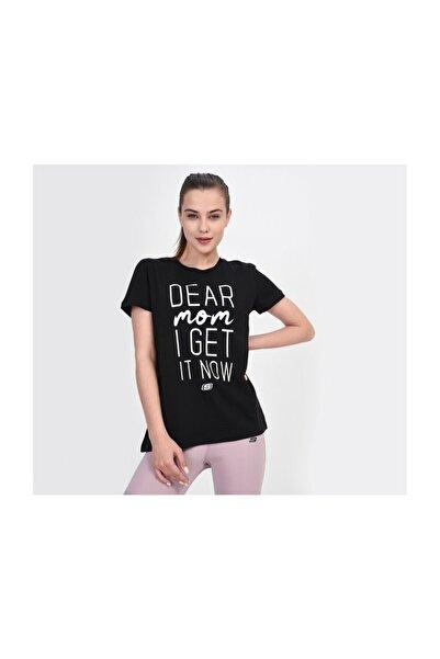 SKECHERS Graphic Tee'S W Dear Mom I Get It Now S201257-001 Kadın Siyah Tshirt