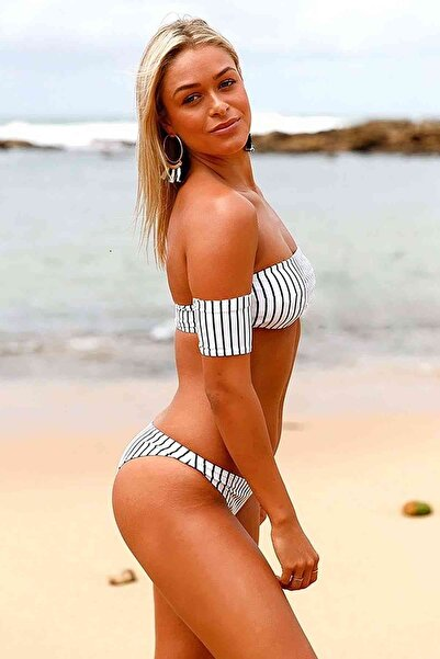 Xanded Şık Straplez Bikini Üstü