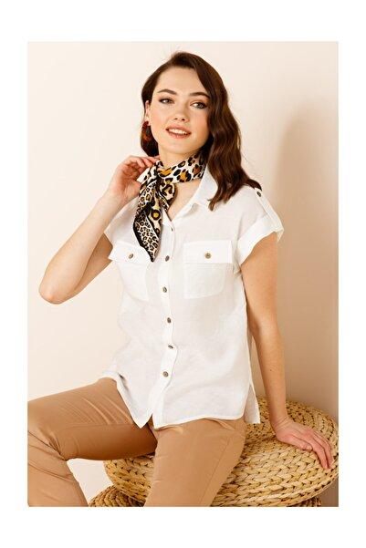 Kadın Duble Kol Gömlek