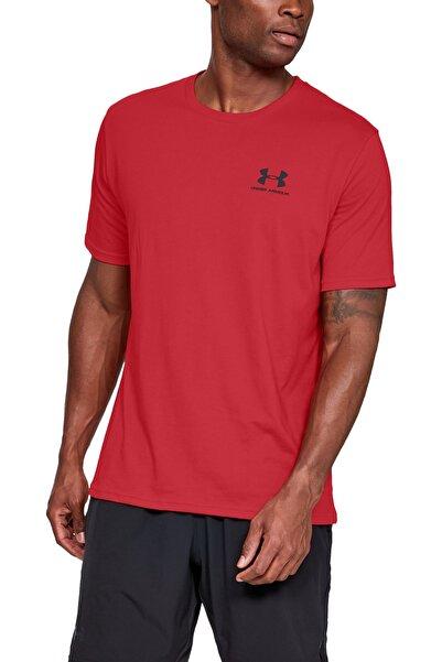 Under Armour Erkek Spor T-Shirt - Sportstyle Left Chest Ss - 1326799-600