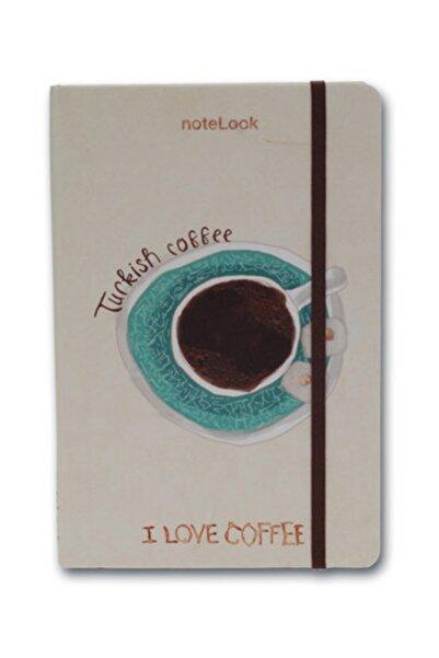Scrikss Notelook I Love Turkish Coffee A6 Çizgisiz Defter