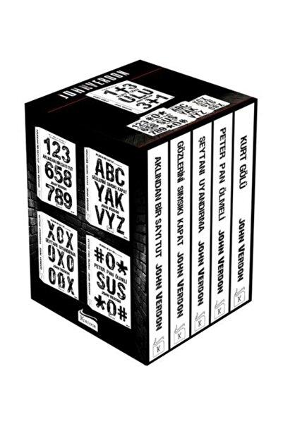 John Verdon Polisiye Seti Kutulu 5 Kitap
