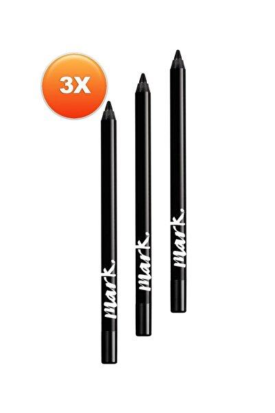 AVON Mark Uzun Süre Kalıcı Jel Göz Kalemi Siyah Üçlü Set
