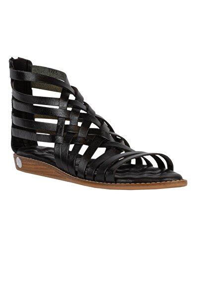 Mammamia Yeni Sezon Kadın Deri Sandalet