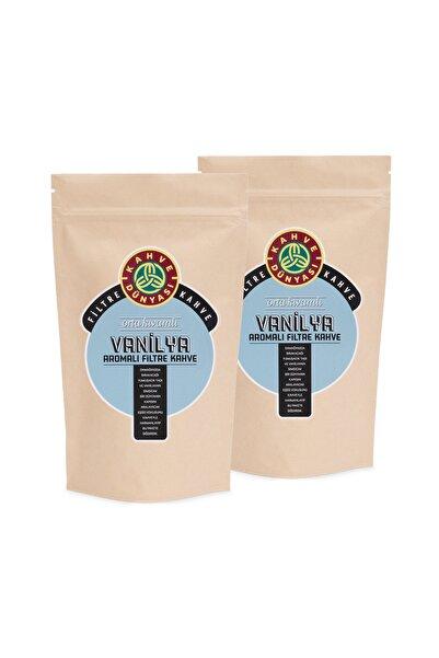 Kahve Dünyası 2'li Vanilya Aromalı Filtre Kahve 250g