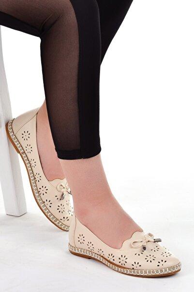 Ayakland Kadın Babet Ayakkabı Günlük Ortopedik