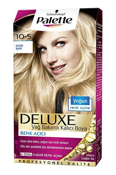 SCHWARZKOPF HAIR MASCARA Palette Deluxe 10-5 Dore Sarı - Yağ Bakımlı Kalıcı Saç Boyası
