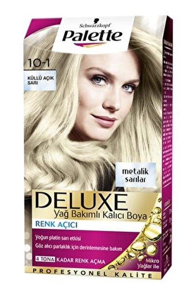 Palette Deluxe 10-1 Küllü Açık Sarı - Yağ Bakımlı Kalıcı Saç Boyası