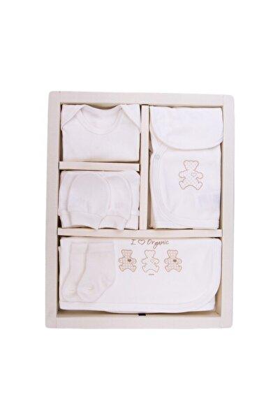 KitiKate 10016765 Unisex Kız - Erkek Bebek 10 Parça Organik Hastane Çıkışı Seti