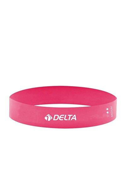 Delta Orta Sert Aerobik Bandı Latex Bant Pilates Yoga Lastiği