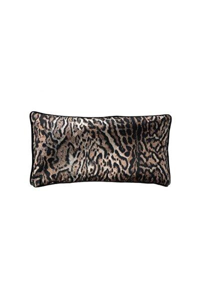 Porio Leopar Uzun Yastık 35x70