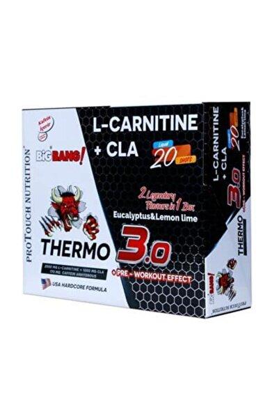 BigBang Thermo 3.0 L Carnitine ( Karnitin ) + Cla 100 ml x 20 Ampül Okaliptus & Limon