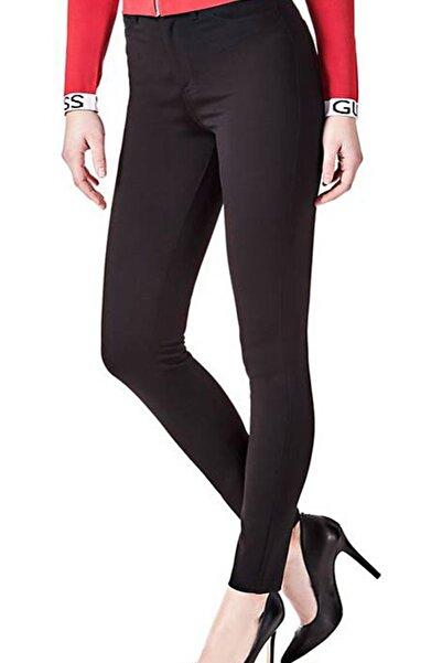 Guess Kadın Siyah Pantolon W82A46K3KL0