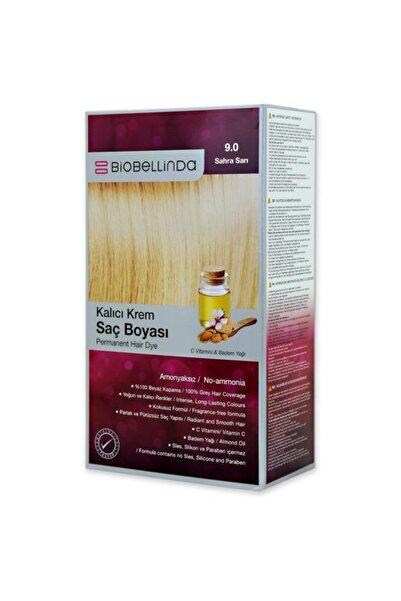 BioBellinda Amonyaksız Ve Kokusuz Kalıcı Krem Saç Boyası - 9.0 Sahra Sarı
