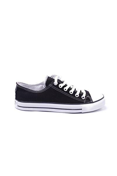 ESPARDİLE Erkek Siyah Beyaz Spor Ayakkabı