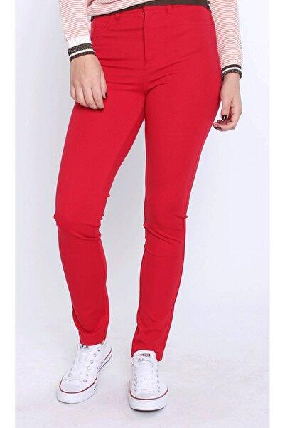 Guess Kadın Kırmızı Pantolon W82A46K3KL0
