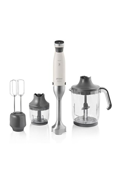 Arzum AR1070 Technoart Maxi Plus 1500 Watt Ergonomik Blender Set - Krem