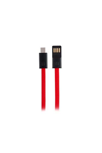 MF PRODUCT 0049 3a Type-c Hızlı Şarj Kablosu 20 cm Kırmızı