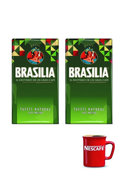 Nestle Brasilia Filtre Kahve 500 gr x 2 + Kupa Bardak Hediye