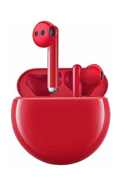 Huawei Huawei FreeBuds 3 Bluetooth Kulaklık Kırmızı (24 Ay Huawei Türkiye Garantili)
