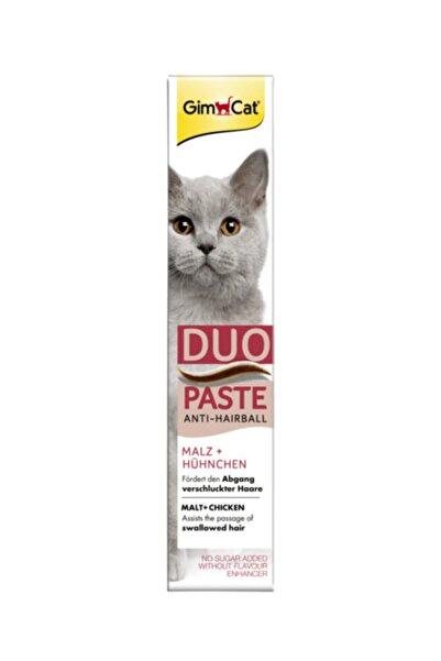 Gimcat Duo Paste Tavuklu Anti-hairball Malt Kedi Macunu 50gr
