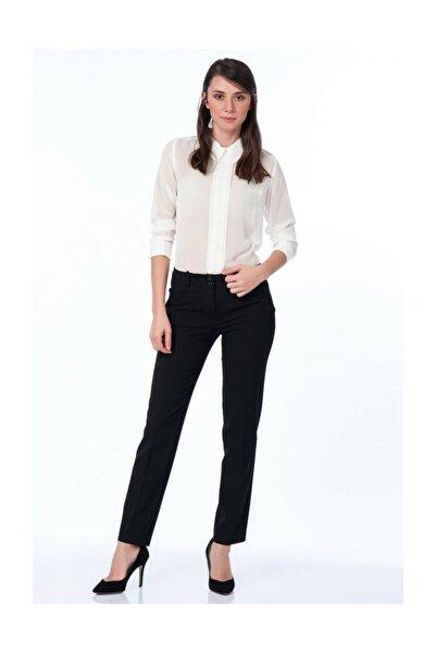 Sense Kadın Siyah Pantolon Pnt18121