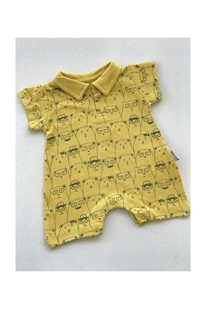 Bebitof Baby Toplu Ayılar Kısa Tulum