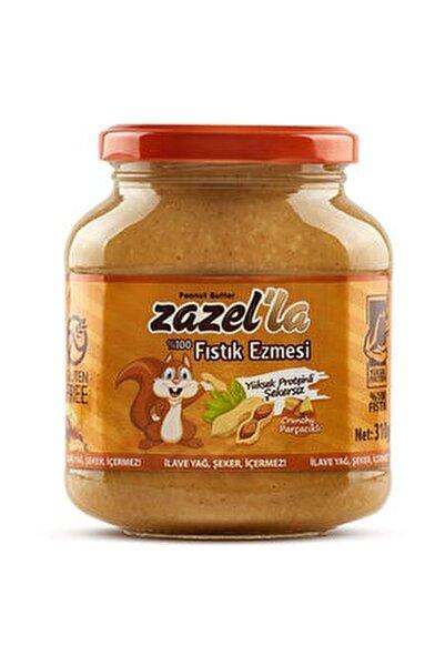 Zazel'la %100 Fıstık Ezmesi Şekersiz 310gr