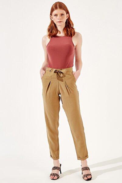 Manche Haki Kadın Pantolon   Mk20s661008