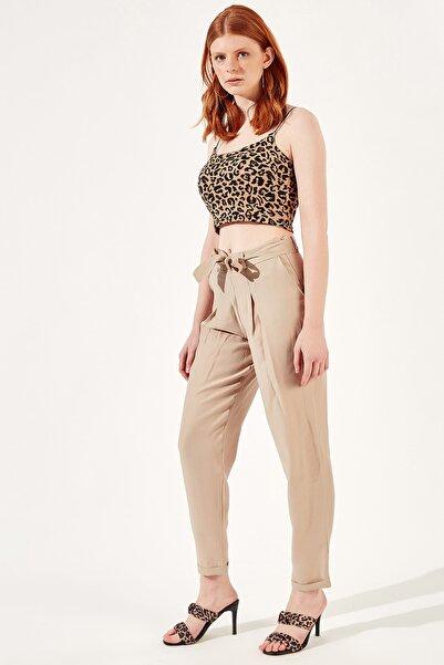 Manche Camel Kadın Pantolon   Mk20s661008