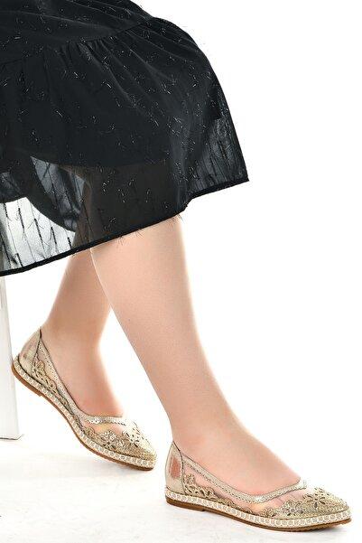 Ayakland Kadın Abiye Anatomik Babet Ayakkabı 177-30