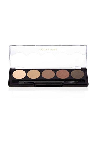 Golden Rose 5'li Göz Farı - Professional Palette Eyeshadow No: 103 Brown Line 8691190071035