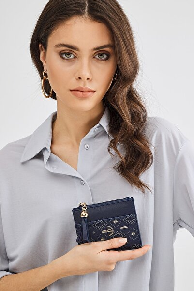 Deri Company Kadın Lacivert Cüzdan (8023dc-l)