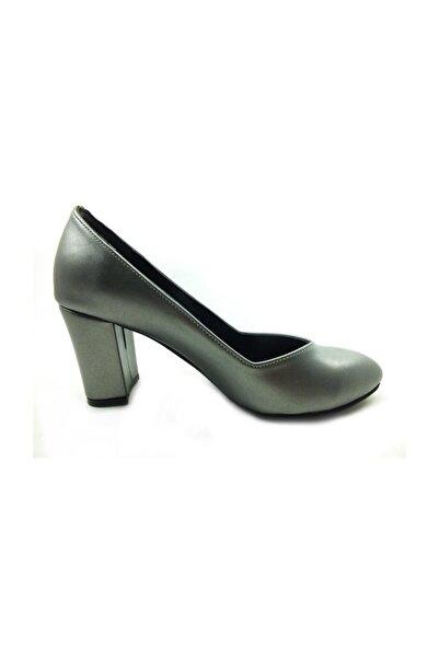 Almera Topuklu Ayakkabı - Platin - 205