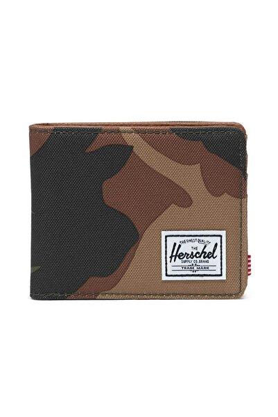 Herschel Supply Co. Unisex Spor Mont -  Hank RFID Woodland Camo - 10368-00032-OS