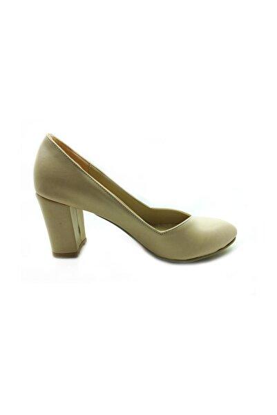 Almera Topuklu Kadın Ayakkabı - Ten - 205