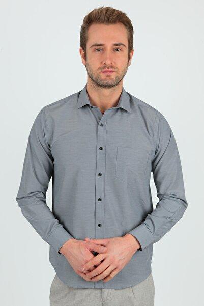 Centone Regular Fit Uzun Kol Cepli Gömlek 20-0118