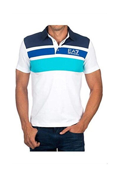 EA7 Slim Fit Polo T-shirt 3zpf63-pj20z-25br