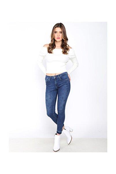 Twister Jeans Kadın Regular Fit Normal Bel Pantolon Lara 9219-01 01