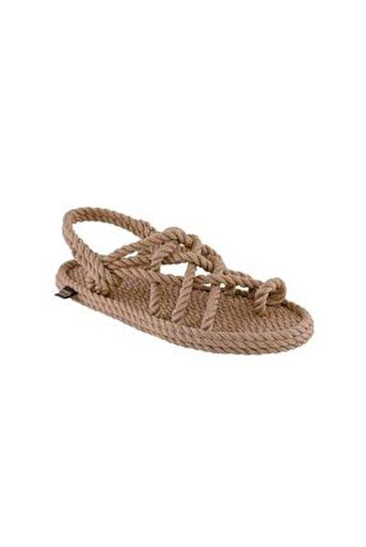 Nomadic Kadın Halat & Ip Sandalet - Bej