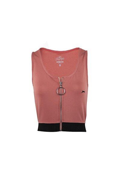 Slazenger Pro Fıt Kadın T-shirt Gül