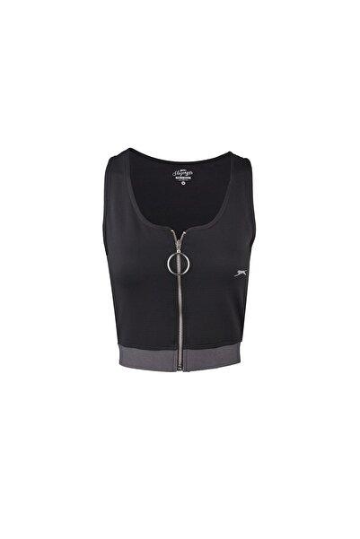 Slazenger Pro Fıt Kadın T-shirt Siyah