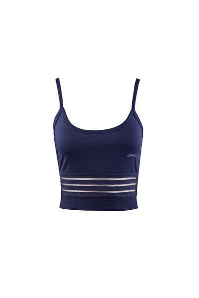 Slazenger Push Kadın T-shirt Lacivert