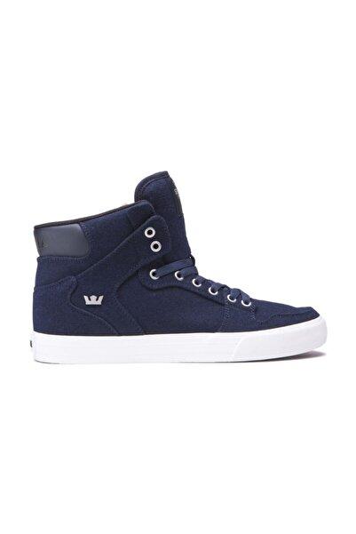 Supra Vaider Navy Wool White Ayakkabı