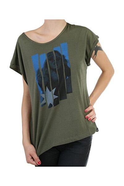 DC Ring Tee Olive Nights Kadın Tişört