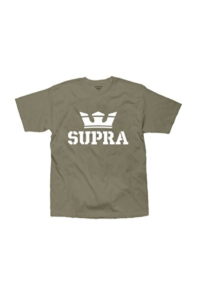 Supra Above Regular Olive White Tişört