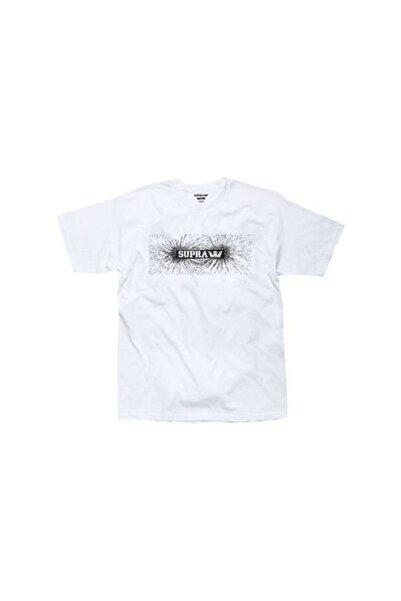 Supra Attraction Reg White Tişört