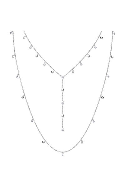 Swarovski Kolye Moonsun:Necklace Layer Czwh/Rhs 5509171