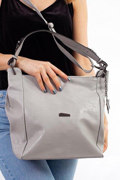 Limoya Bags Hila Gümüş Kadın El Ve Omuz Çantası